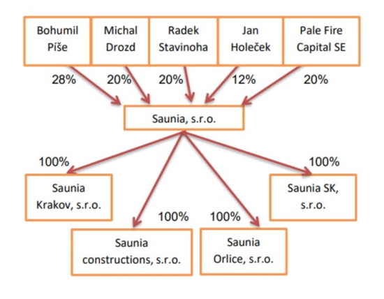 Saunia_vlStruktura